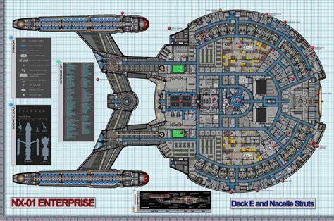 uss enterprise floor plan 208 best images about star trek u s s enterprise nx 01