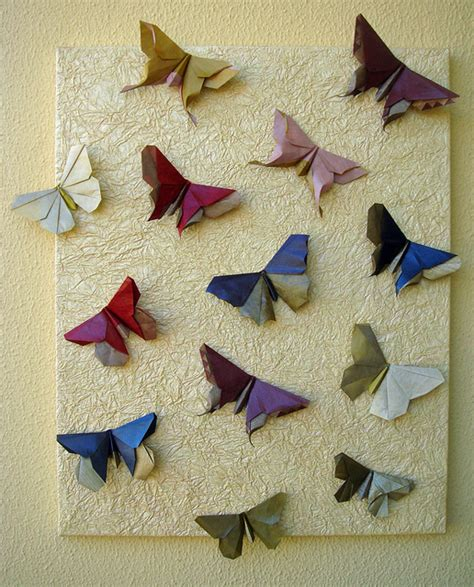 Butterfly Paper Folding - origami maniacs beautiful origami butterfly by michael