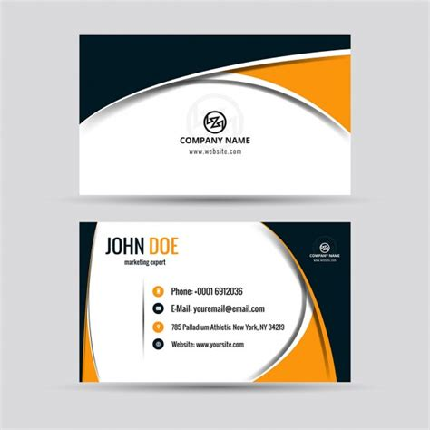 business card page template png freepik vector at getdrawings free for personal use