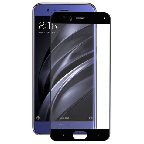 Screen Tempered Glass For Xiaomi Mi 6 xiaomi mi 6 hat prince size tempered glass screen protector black