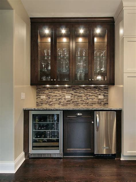 built in bar built ins and wine fridge on pinterest kichler lighting bright discs under cabinet light
