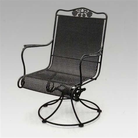 high back swivel patio chairs metal high back swivel rocker patio chairs images 86