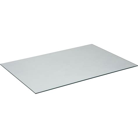 plateau de table verre l 140 x l 72 cm x ep 8 mm leroy merlin