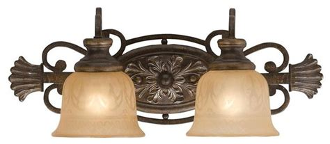 wrought iron bathroom lighting crystorama 7422 bu wrought iron bath bar handpainted with
