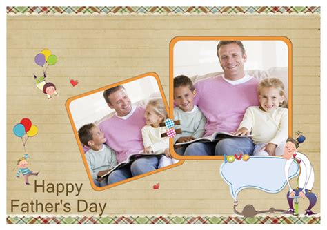 happy fathers day cards templates fathers day card templates greeting card builder