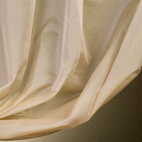 silk sheer curtains get cream silk organza sheer curtains drapes