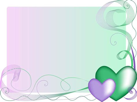 colorful wallpaper for powerpoint powerpoint border templates clipart best