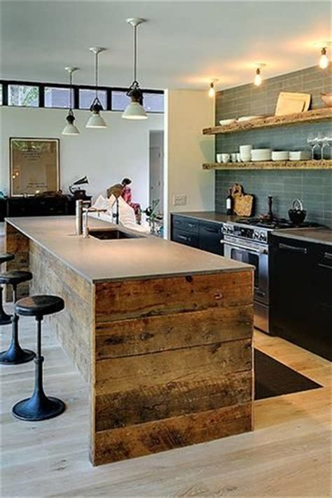 modern rustic kitchen rustic modern kitchen