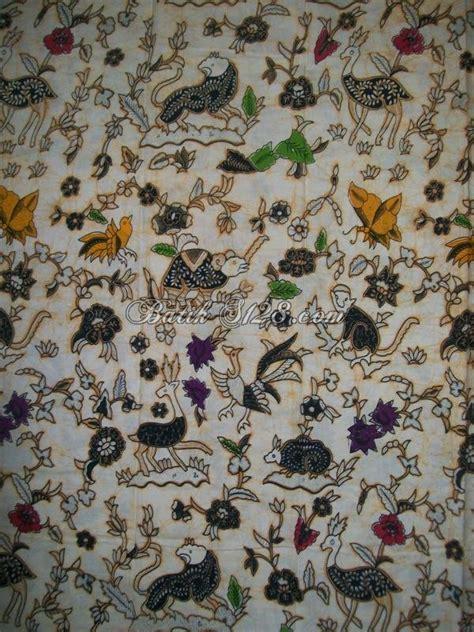 Rok Dan Blouse Batik Sasmira Tolet batik kompeni motif satwa hutan buron wono kcbt357