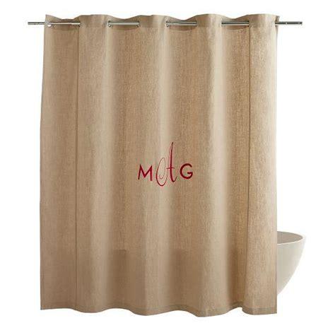 ballard designs shower curtain monogrammed shower curtain sage stripe ballard designs