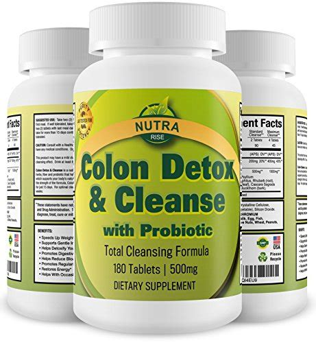 Best Probiotic For Detox by Colon Detox Cleanse With Probiotic For Weight Loss 100