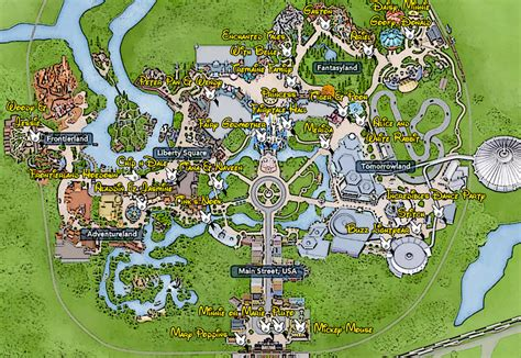 disney world magic kingdom map 301 moved permanently