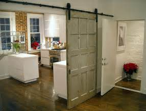 exterior and interior sliding barn door hardware kits