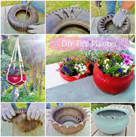 Handmade Garden - 21 cheap easy handmade planters to beautify your garden