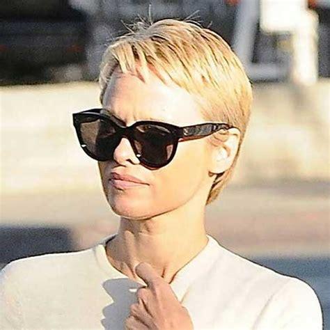 10 Pamela Anderson Pixie Cuts   Pixie Cut 2015