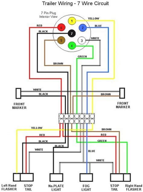 4 wire trailer wiring diagram troubleshooting to t for