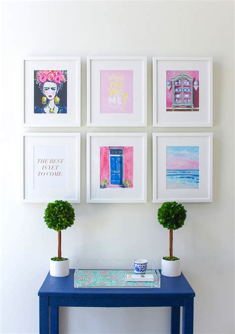 gallery wall design office gallery wall with framebridge design darling