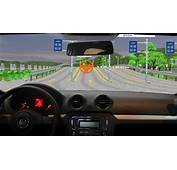 Virtual Driving Instructor And Close To Reality