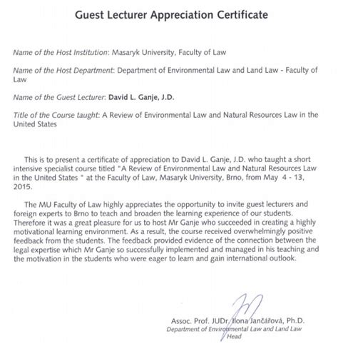 thank you letter sle guest speaker appreciation letter to guest speaker 28 images sle