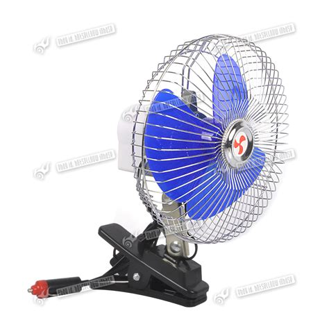portable clip on fan 8 inch 12v portable dashboard vehicle auto car