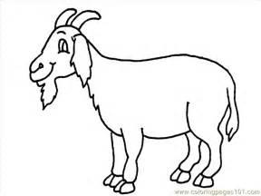 goat coloring pages coloring pages goat coloring page 10 animals gt goat