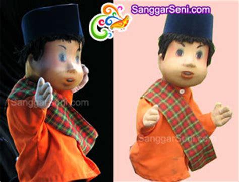 tokoh film unyil sanggar seni indonesia boneka si unyil dan pak raden