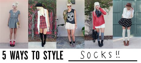 Style Socks 5 ways to style socks a beautiful mess