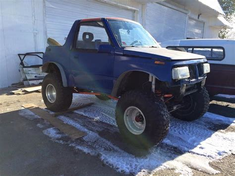 93 Suzuki Sidekick by 93 Suzuki Sidekick Crawler Toyota Axles 35 S Coil Link