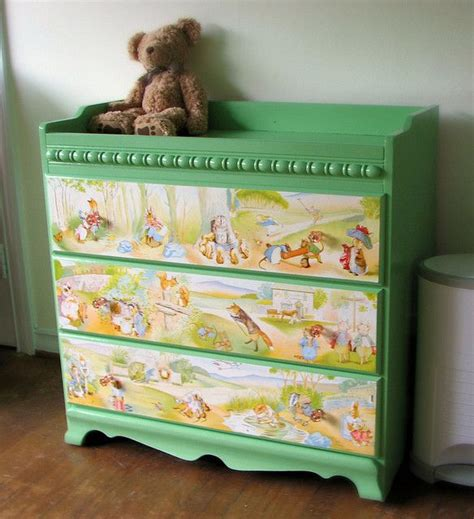 Beatrix Potter Decoupage - 17 best images about beatrix potter themed room