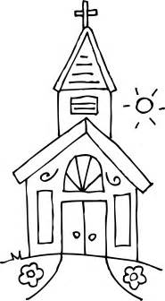 church coloring pages church coloring page free clip