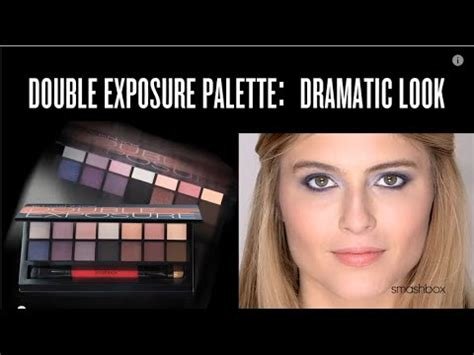 double exposure tutorial italiano smashbox double exposure palette dramatic look tutorial