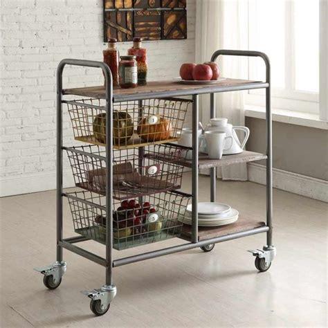 Kitchen Coffee Cart by Kitchen Cart In Espresso 148022