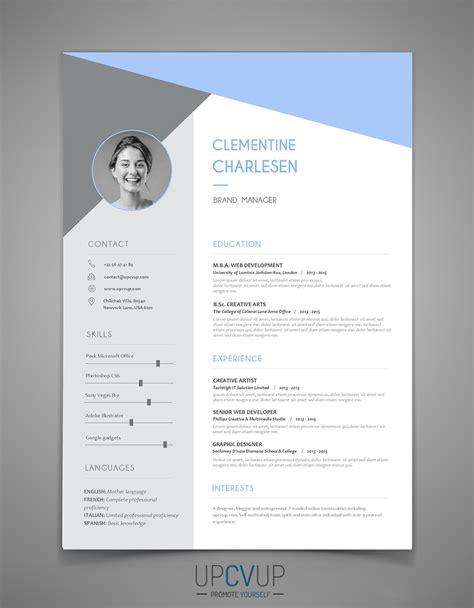 Best Marketing Resume by Cv Moderne Word T 233 L 233 Charger Cv Upcvup