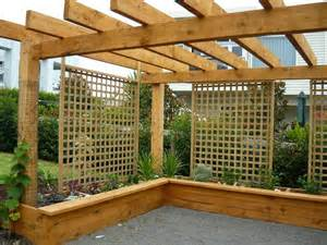 Raised Garden Beds Designs - macrocarpa raised gardens solid tables pergolas environmentally safe