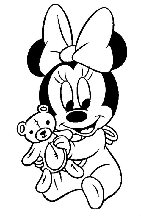 baby minnie mouse birthday coloring pages minnie mouse baby coloring pages christmas time coloring pages