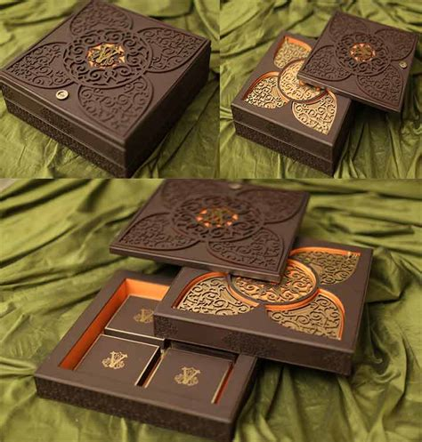 Wedding Invitation Card Box by 9 Expensive Wedding Cards To Announce Your Royal Union