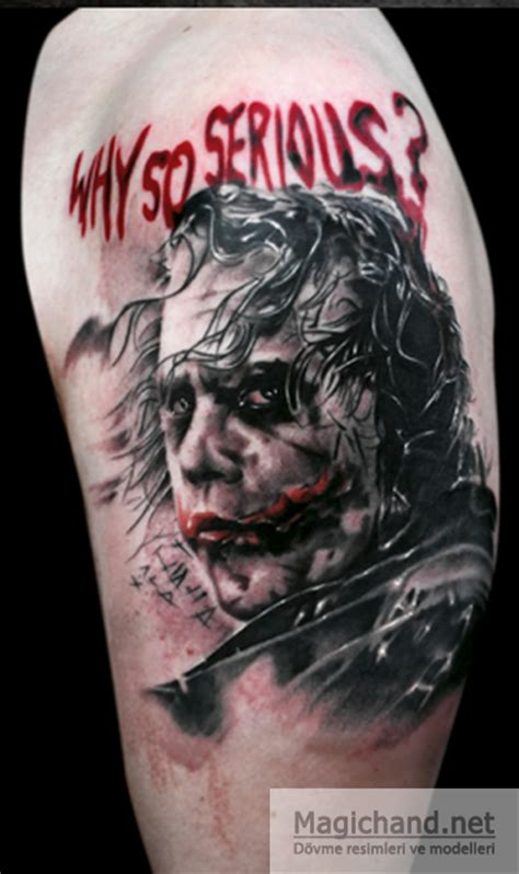 why so serious tattoo joker images designs