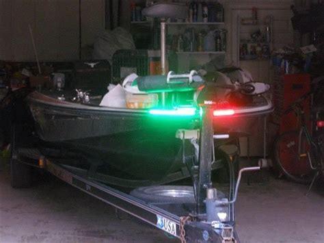 led lights for bass boats boat led bow lighting red green navigation light marine