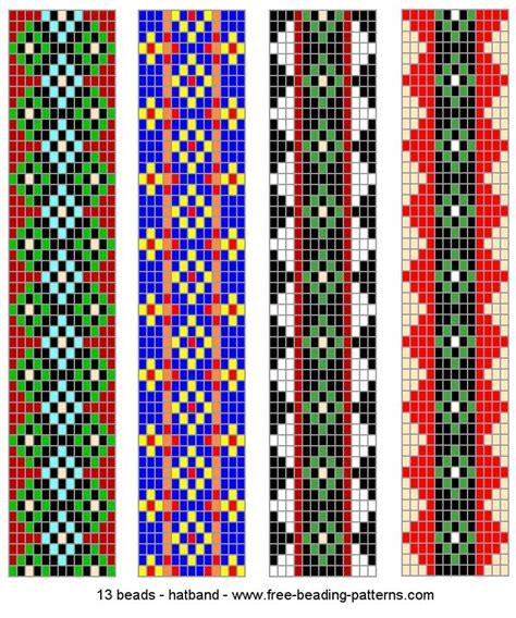 how to make bead loom patterns 185 best beadweaving patterns loom flat peyote images