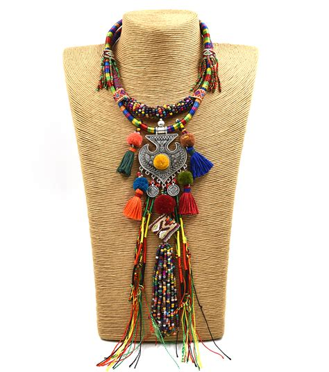 Handmade Boho Clothing - clothing accessories bohemian boho ethnic beaded tassel