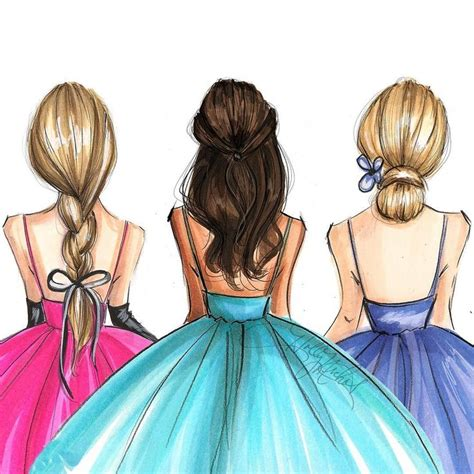 imagenes para tres amigas 17 mejores ideas sobre mejores amigas dibujo en pinterest