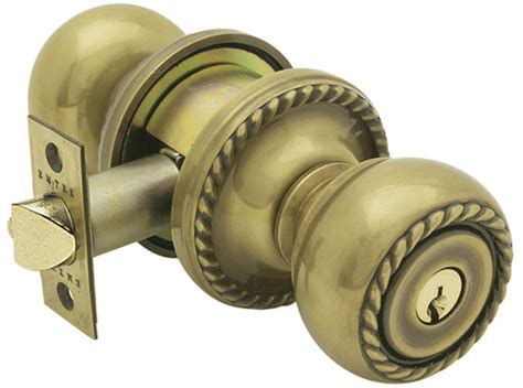 Door Knobs With Key by Solid Brass Key In Rope Door Knob Set With Rope Rosette