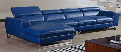 l shaped sofa with chaise lounge blue grain leather l shaped sofa with chaise lounge