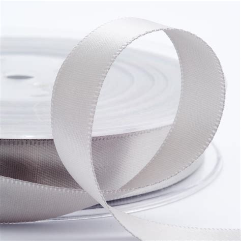 silver satin ribbon weddings at favour this