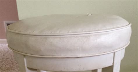 skirted vanity stool thrifty treasures skirted vanity stool