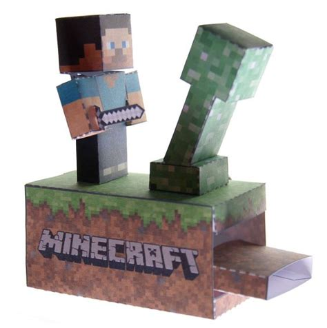 Minecraft Papercraft Tutorial - minecraft paper machine toys paper and minecraft stuff