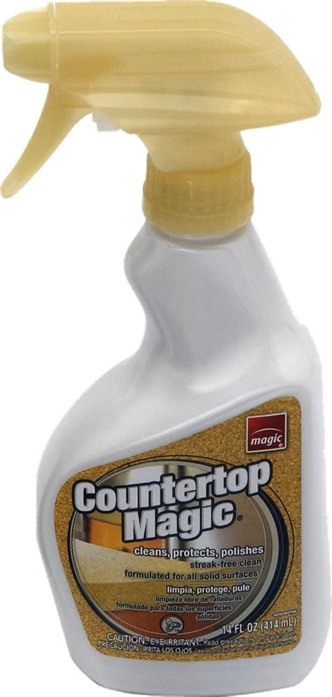 countertop magic solid surface cleaner