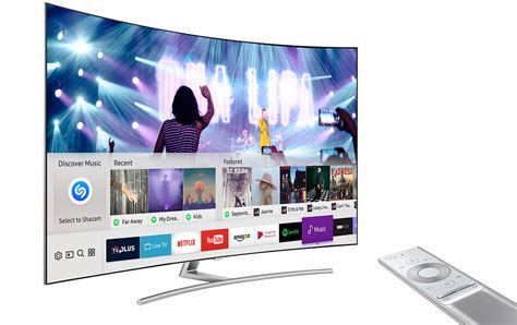 smart samsung samsung smart tv shazam service gizbrain your