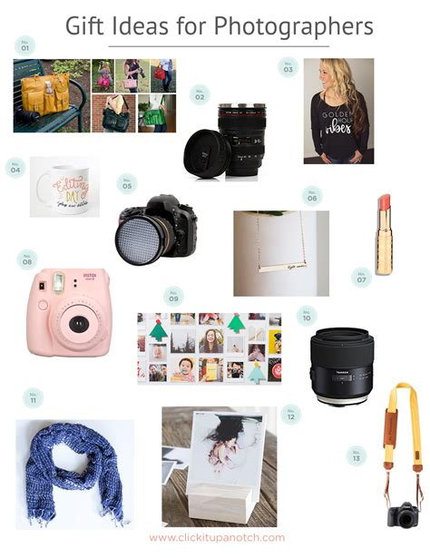 gift ideas for photographers click it up a notch 174