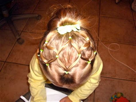 hair styles for guys that has rubber bands toddler hairstyles neon green rubber bands